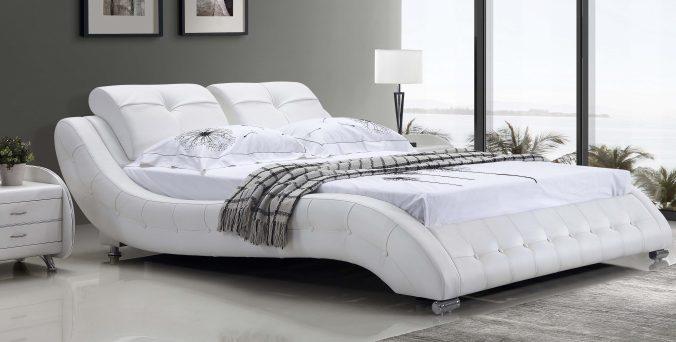 מיטה דגם טוקיו - לבן