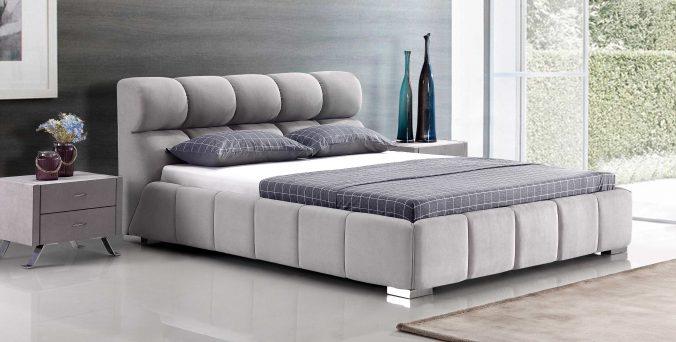 מיטה דגם סילבר - אפור