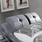 מיטה דגם טוקיו - אפור