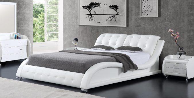 מיטה דגם לאס-וגאס לבן