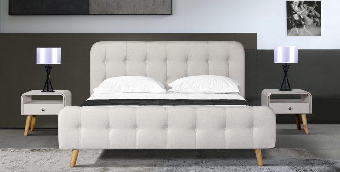 מיטה דגם פרובנס - שמנת