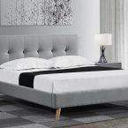 מיטה דגם בייסיק - אפור
