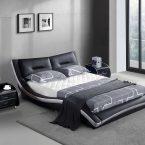 מיטה דגם גלית - שחור