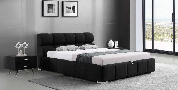 מיטה דגם סילבר - שחור