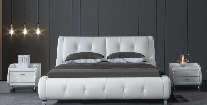 מיטה דגם אבניו- לבן