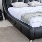 מיטה דגם אבניו- שחור