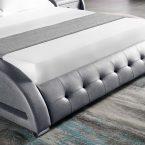 מיטה דגם לאס-וגאס אפור