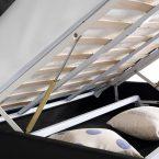 מיטה דגם קומפורט - ארגז מצעים (שחור)