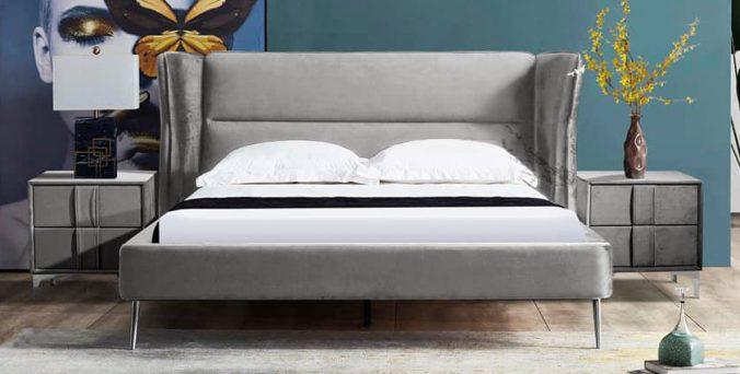 מיטה דגם דרים - אפור