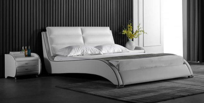 מיטה דגם טקסס - לבן